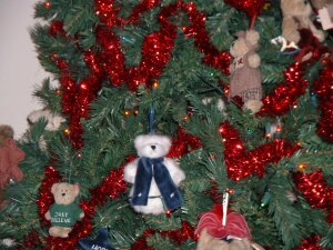 Christmas Tree with Bears.